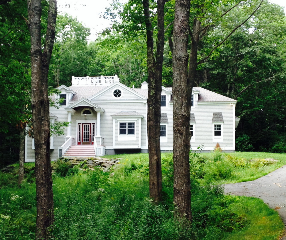 The house that Gov. Paul LePage and his wife, Ann, purchased in Boothbay 2014.