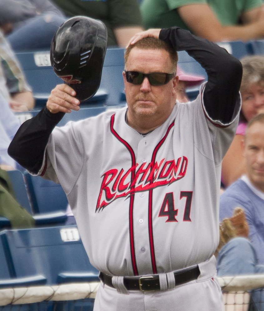 Ken Joyce is the batting coach for the Richmond Flying Squirrels, who visited Portland last weekend. That gave Joyce a chance to see some friends, and also allowed him to sleep in his own bed for the first time since February.