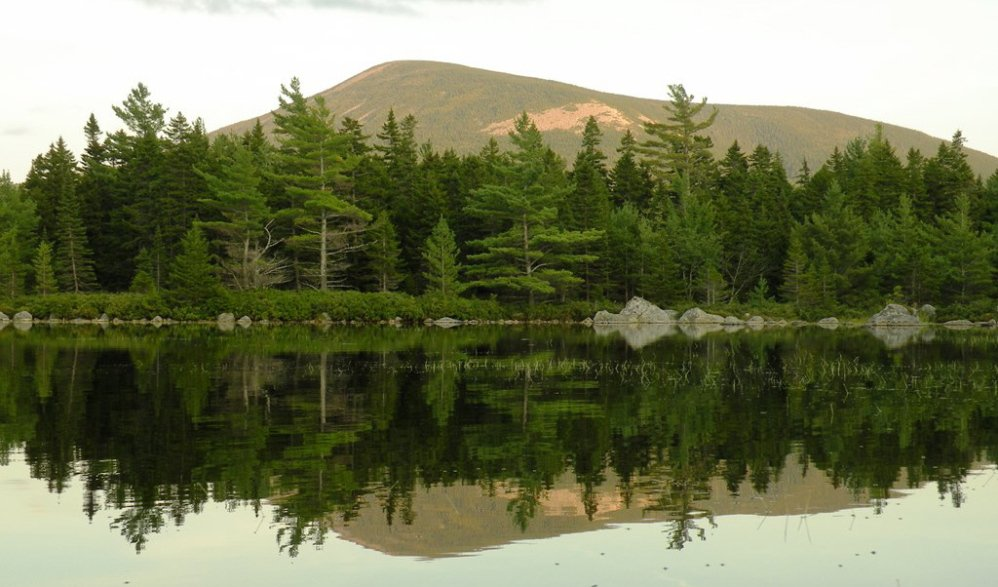 "Russell Pond, right in the center of Baxter State Park, gives a ""sense you're really far away from it all,"" according to the park director."