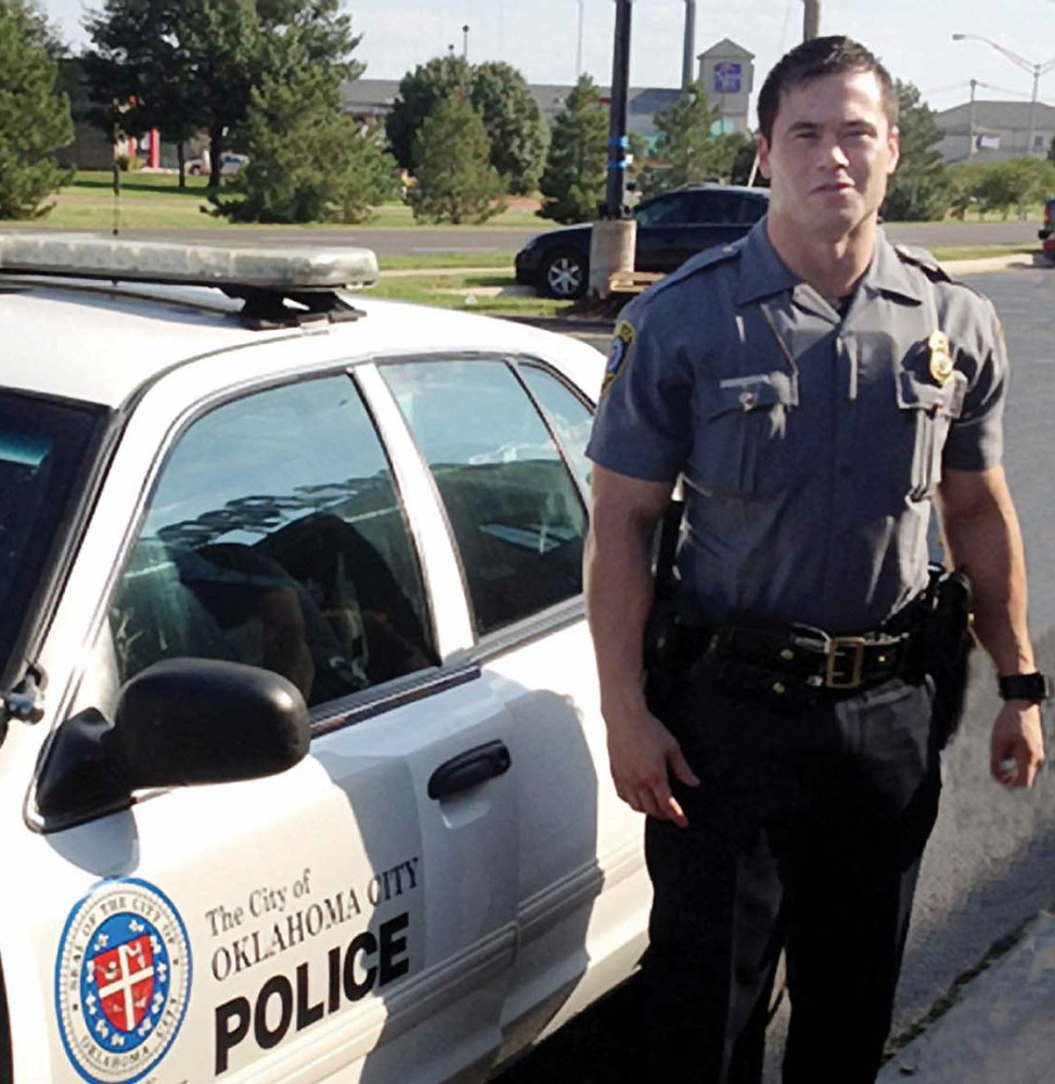 Oklahoma City police Officer Daniel Holtzclaw is shown in a 2012 photo. Investigators say he raped one woman and fondled six others or forced them to perform sex acts.