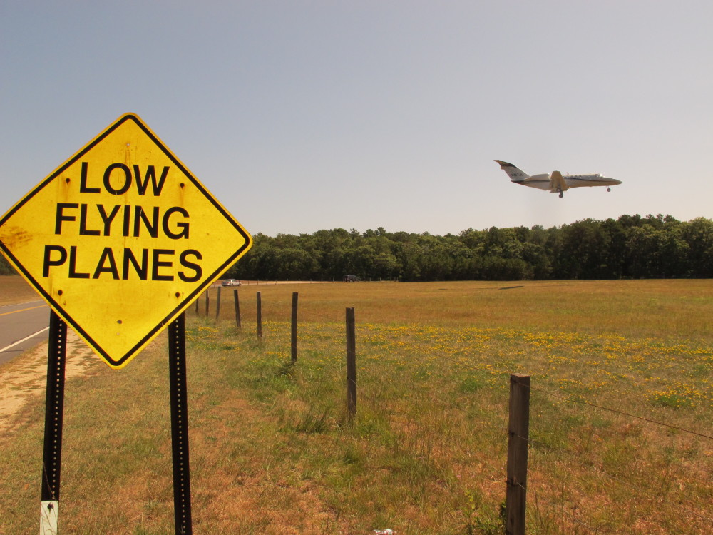 Small corporate jets, as well as helicopters, are approaching East Hampton Town Airport in greater numbers this summer and annoying residents and tourists in the summer hot spot.