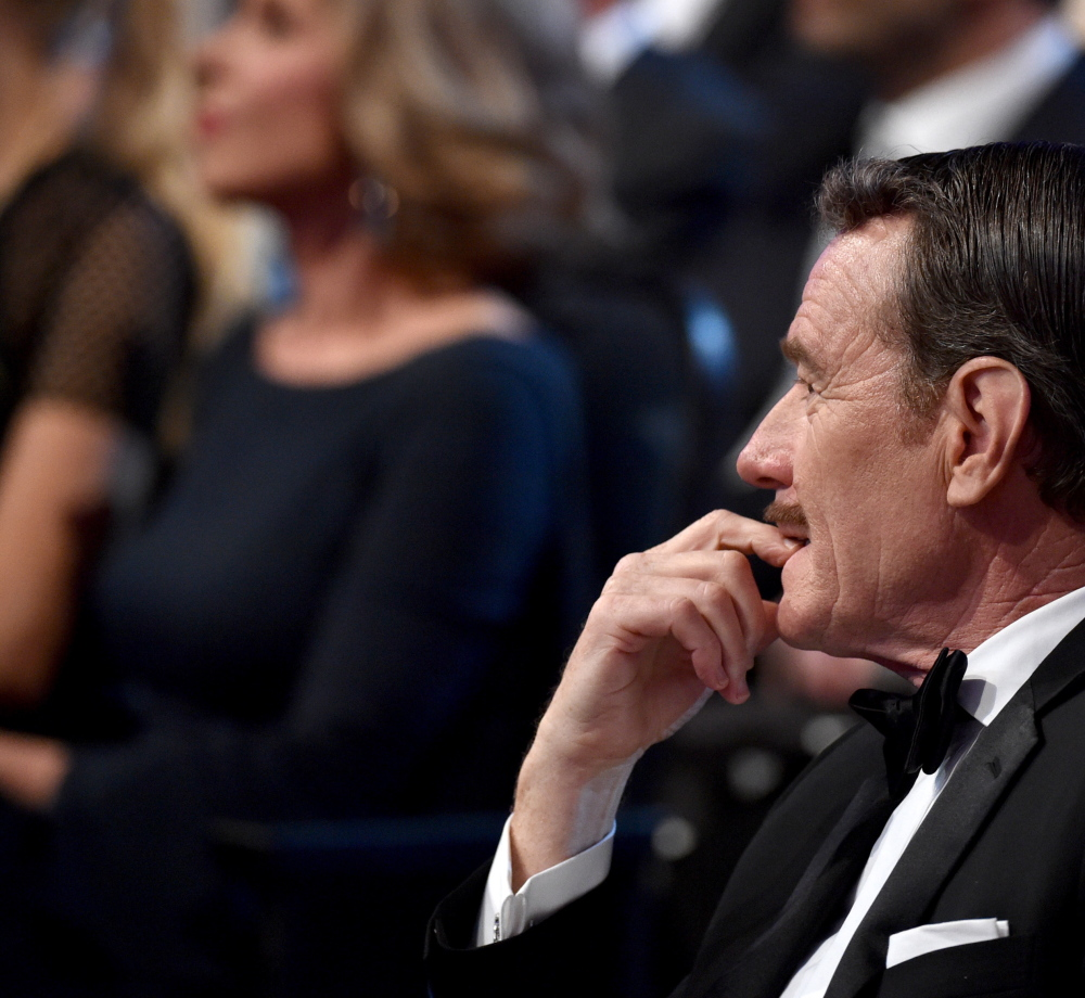The 66th Primetime Emmy Awards break just fine for Bryan Cranston, honored as best actor in a drama.