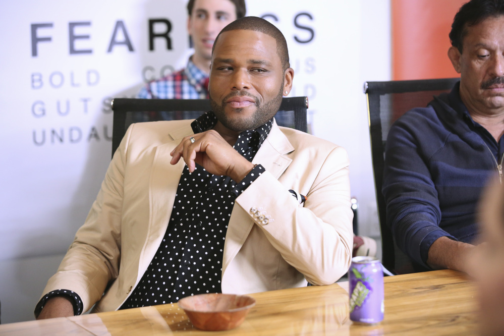 """This image released by ABC shows Anthony Anderson in a scene from the comedy """"Black-ish,"""" premiering Sept. 24."""
