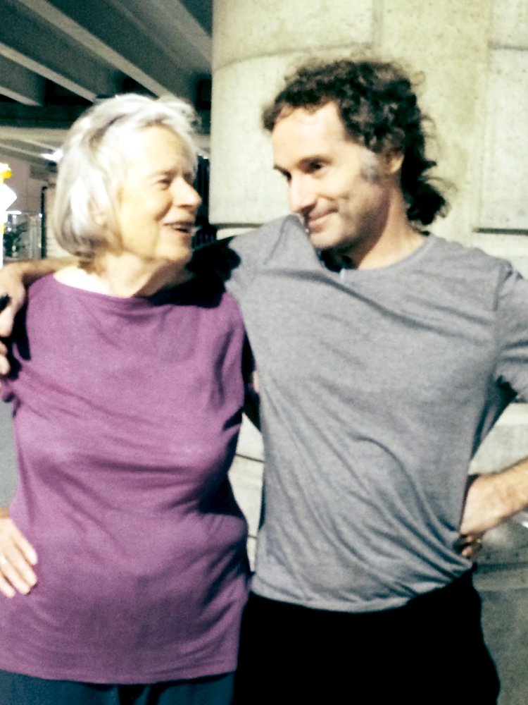 The Associated Press This photo provided by the Curtis family shows Nancy Curtis and her son Peter Theo Curtis in Boston on Tuesday. Curtis, a freelance reporter who wrote under the byline Theo Padno, was held hostage for almost two years in Syria.