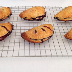 Easy to serve and eat, berry hand pies are practical desserts for a beach picnic.