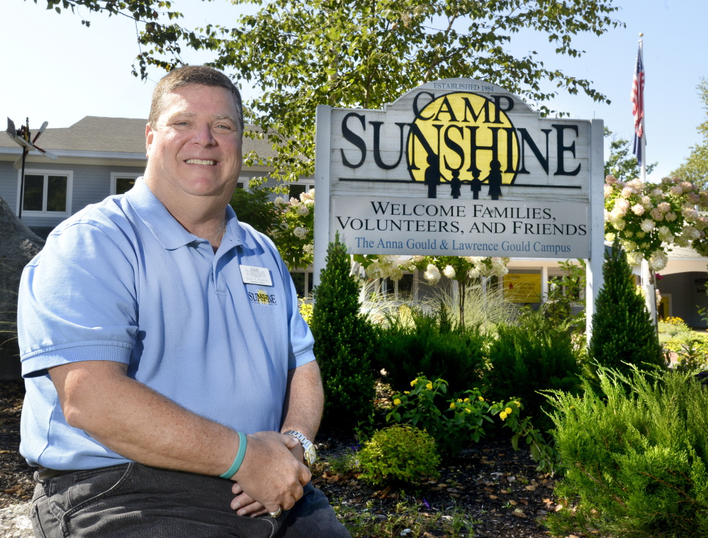 Gary Barron is executive director of Camp Sunshine, which provides camping for seriously ill children and their families.