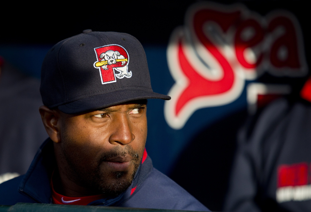 In his first year as a Double-A manager, Billy McMillon guided the Sea Dogs to their first playoff berth since 2008. Press Herald File Photo