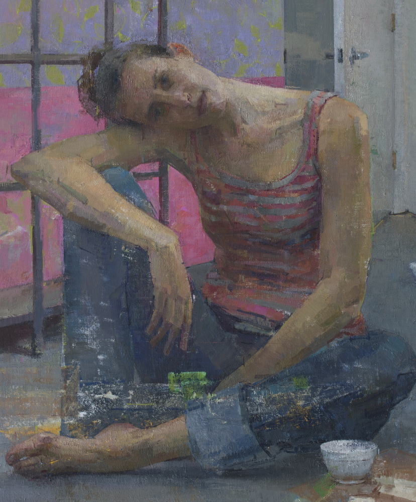 """Pink and Grey,"" by Zoey Frank"