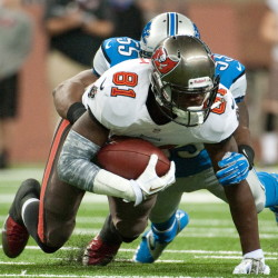 Tight end Tim Wright, acquired by the Patriots on Tuesday in a deal with Tampa Bay, made four catches for 43 yards in Thursday's preseason finale against the Giants.