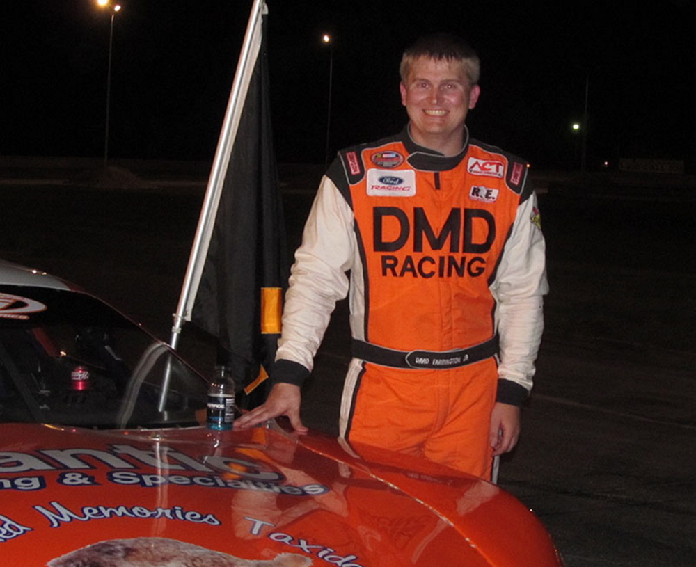 Dale Farrington Jr. won the Pro Series season championship at Beech Ridge Motor Speedway in Scarborough in 2014.