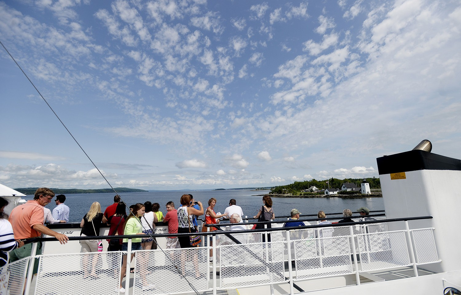 The Islesboro Ferry could soon be taking visitors to the first island in the state with gigabit internet access.