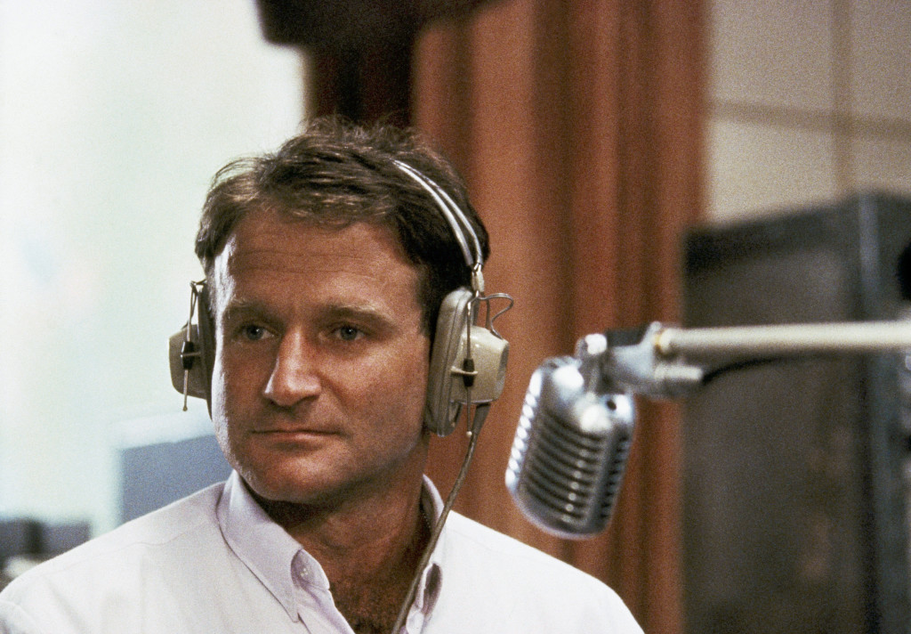 "In 1987, Robin Williams played disc jockey Adrian Cronauer in director Barry Levinsons comedy drama ""Good Morning Vietnam."""