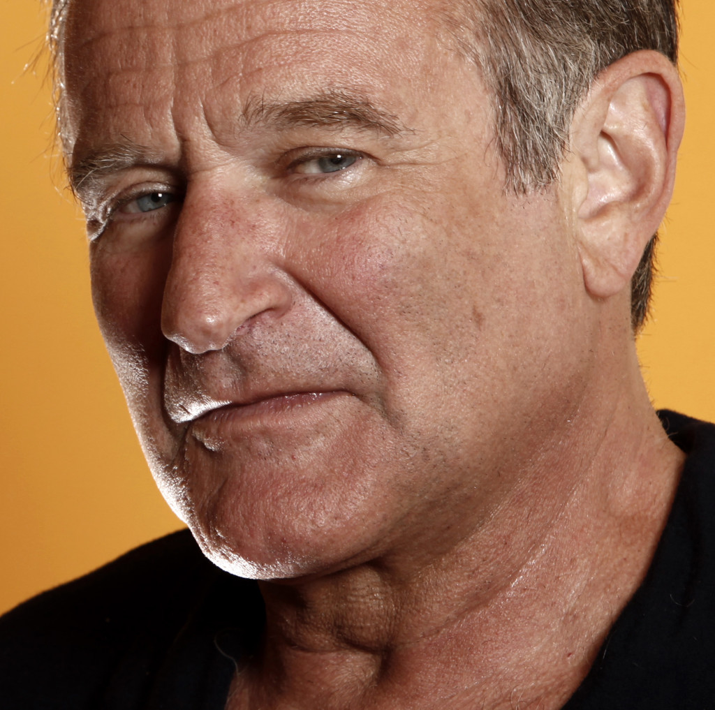 "This 2009 photo shows actor Robin WIlliams from the film ""World's Greatest Dad."""
