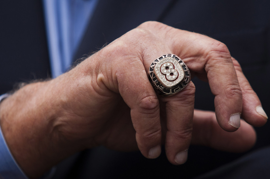 Carl Yastrzemski's ring. Reuters