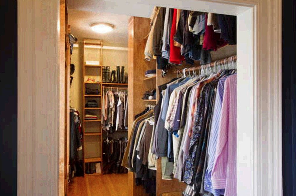 The master bedroom of the West Mansion features a large walk-in closet. Carl D. Walsh / Staff Photographer
