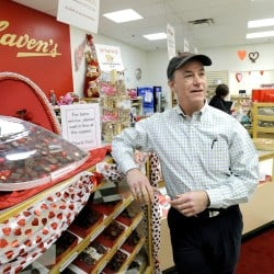 Andy Charles has sold Haven's Candies in Westbrook.