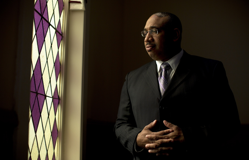 A former Bostonian familiar with racial strife, the Rev. Kenneth Lewis, pastor of Green Memorial AME Zion Church, says old racial concepts can remain unchallenged in Maine, sometimes for generations.