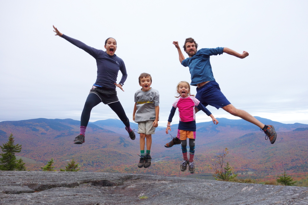 The Kallin family finished their thru-hike of the Appalachian Trail from Georgia to Maine on Monday, they report on their blog.