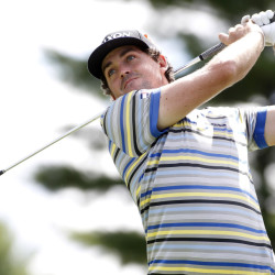 Keegan Bradley, seen playing in the the Deutsche Bank Championship on Friday, was chosen Tuesday night for the U.S. Ryder Cup team.