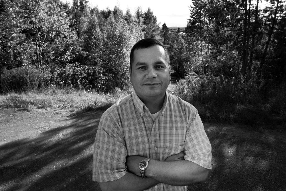 Billy Nicholas, former governor of the Passamaquoddy Tribe's Indian Township government.