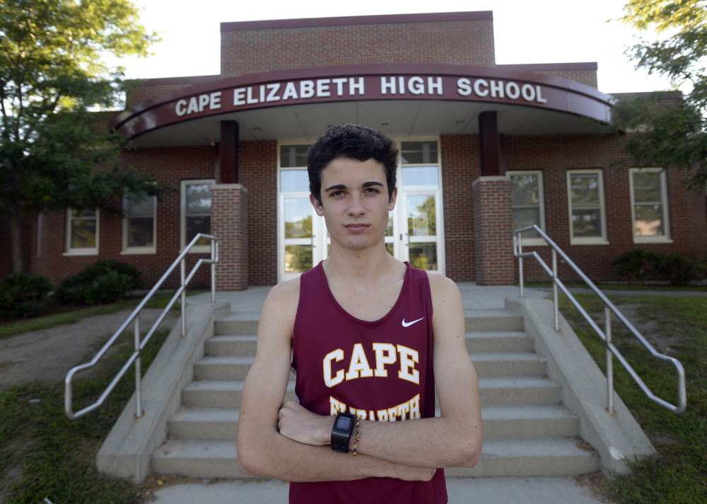 Mitchell Morris of Cape Elizabeth was a soccer player who still loves the sport, but when cross country beckoned last season, he came running. And in a big way. No underclassman in any of the three state championship meets last season posted a time as fast as Morris.