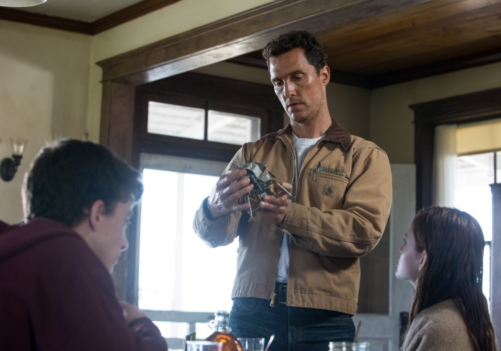 "Matthew McConaughey in ""Interstellar."""