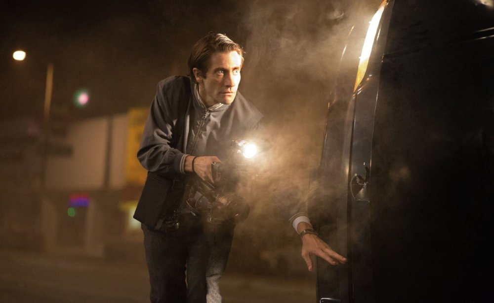 "Jake Gyllenhaal in ""Nightcrawler."""