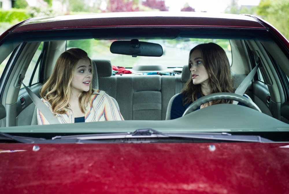 "Chloe Moretz and Keira Knightley in ""Laggies."""