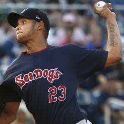 Pitcher Eduardo Rodriguez also will play for Pawtucket in the International League championship series.