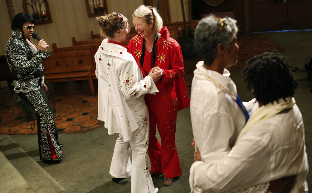 Gay and lesbian commitment ceremony