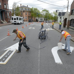 High Street in Portland could have traffic flowing in two directions if the City Council approves such a recommendation.