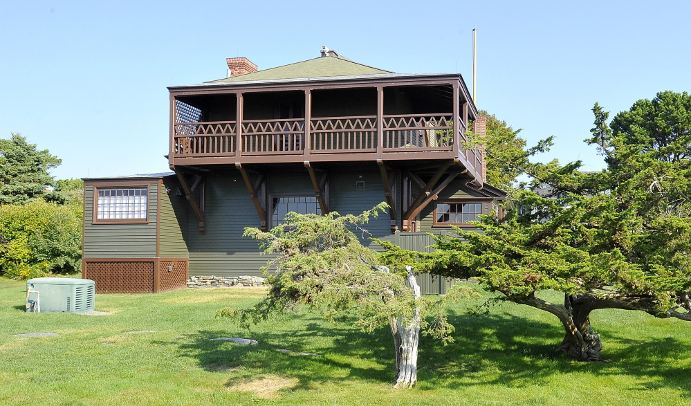 The Portland Museum of Art bought Winslow Homer's studio in Prouts Neck, Scarborough, and the small parcel of land it sits on in 2006. Gordon Chibroski/Staff Photographer