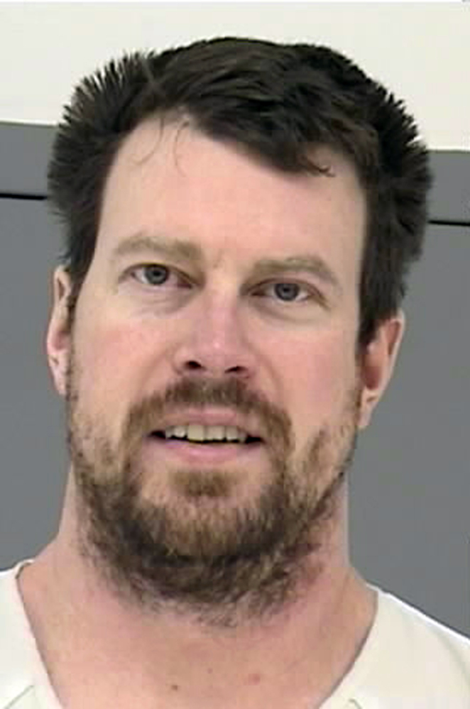 Ryan Leaf, seen in a 2013 booking photo provided by the Montana Department of Corrections, has been sentenced to five years in prison in Texas for violating terms of his probation.