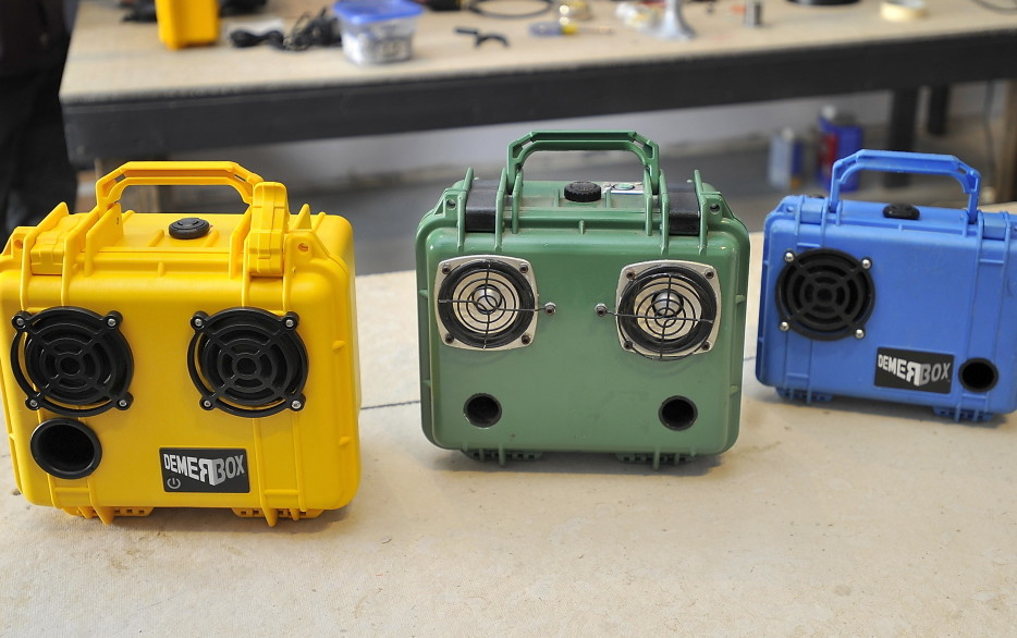 Maine Startup Set To Make Waves With Its Rugged Boombox