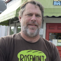 John Naylor, co-founder of Rosemont Market, spent time in France to study regional cooking and shopping habits.