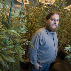 Paul McCarrier says he learned to grow and clone marijuana plants by taking courses and doing reading on his own.