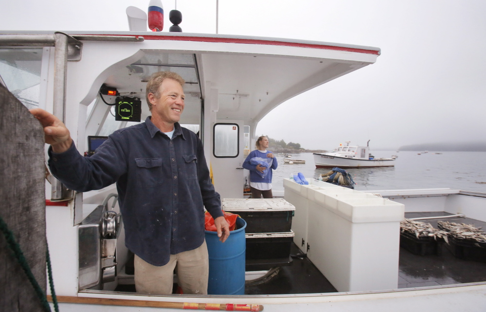 For Frank Gotwals, the view from his office aboard the Sea Song has long  been Penobscot Bay, but the longtime lobsterman will be spending more time indoors promoting the crustacean that made Maine famous.