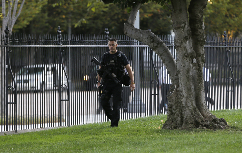 Accused white house intruder had rounds of ammunition