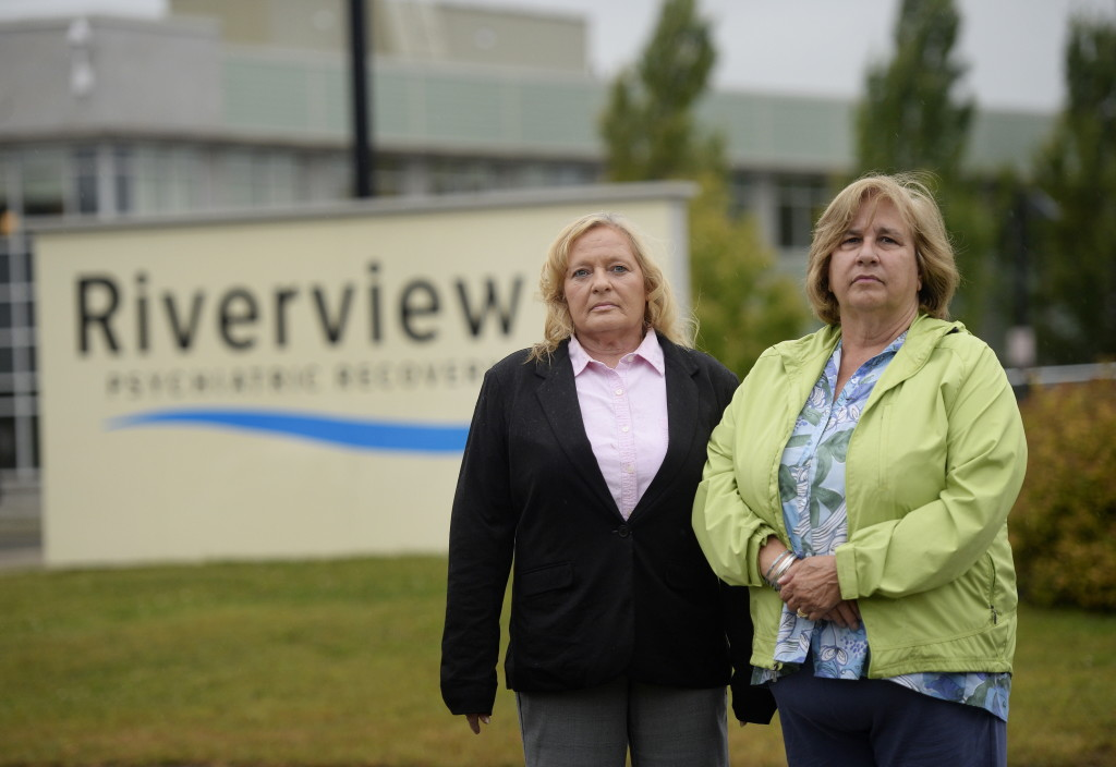Georgia Gunning, left, and Judith Dorsey, licensed social workers who until recently worked at Riverview Psychiatric Center in Augusta (Gunning is on paid administrative leave, and Dorsey was fired by the facility), spoke out about the deficiencies at the center, describing a dysfunctional work environment that allowed patient abuse to become commonplace. Shawn Patrick Ouellette/Staff Photographer
