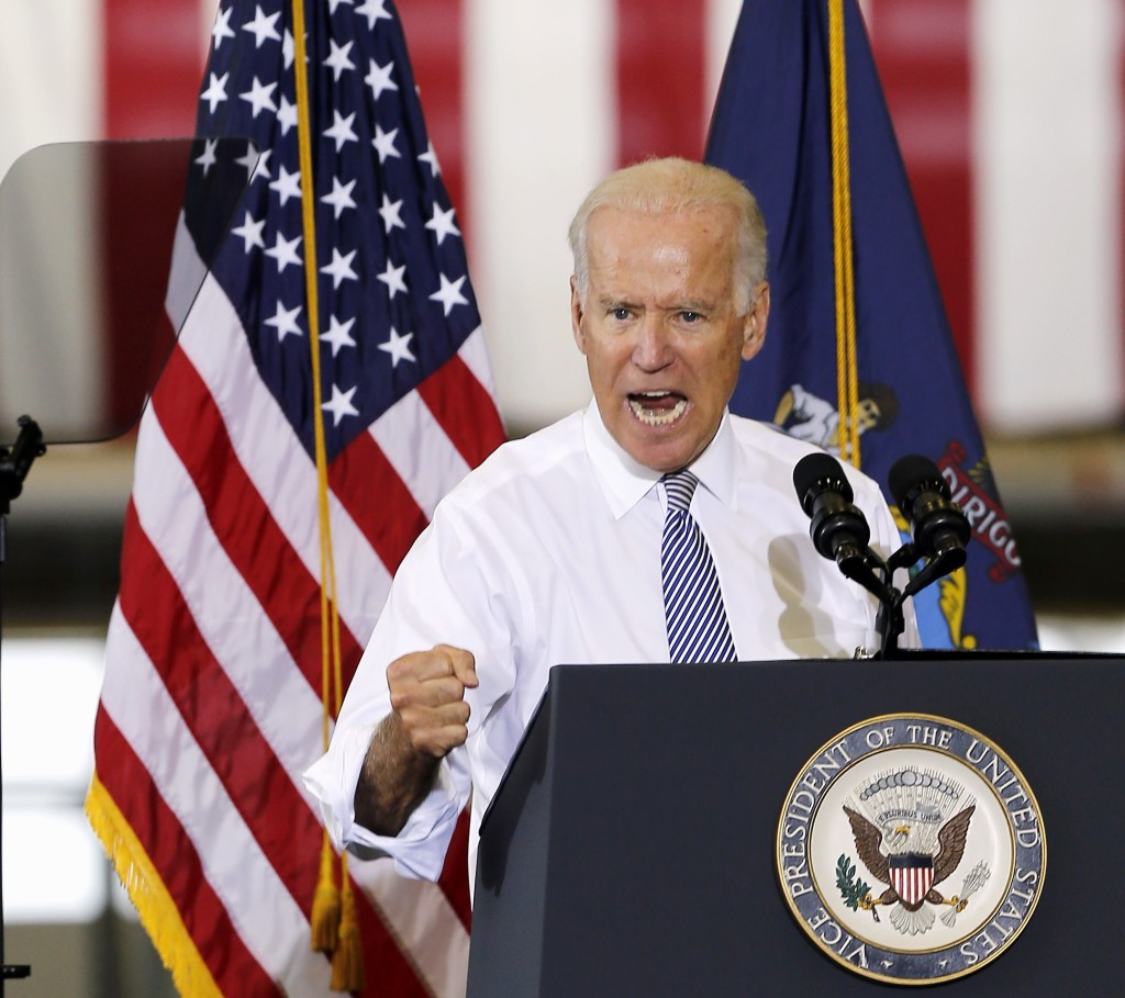 "Vice President Joe Biden vowed to follow ""to the gates of hell"" the terrorists who killed two American journalists, while speaking at the Portsmouth Naval Shipyard in Kittery on Wednesday."
