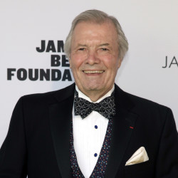 Chef Jacques Pepin at the 2014 James Beard Foundation Awards in New York City on May 5.