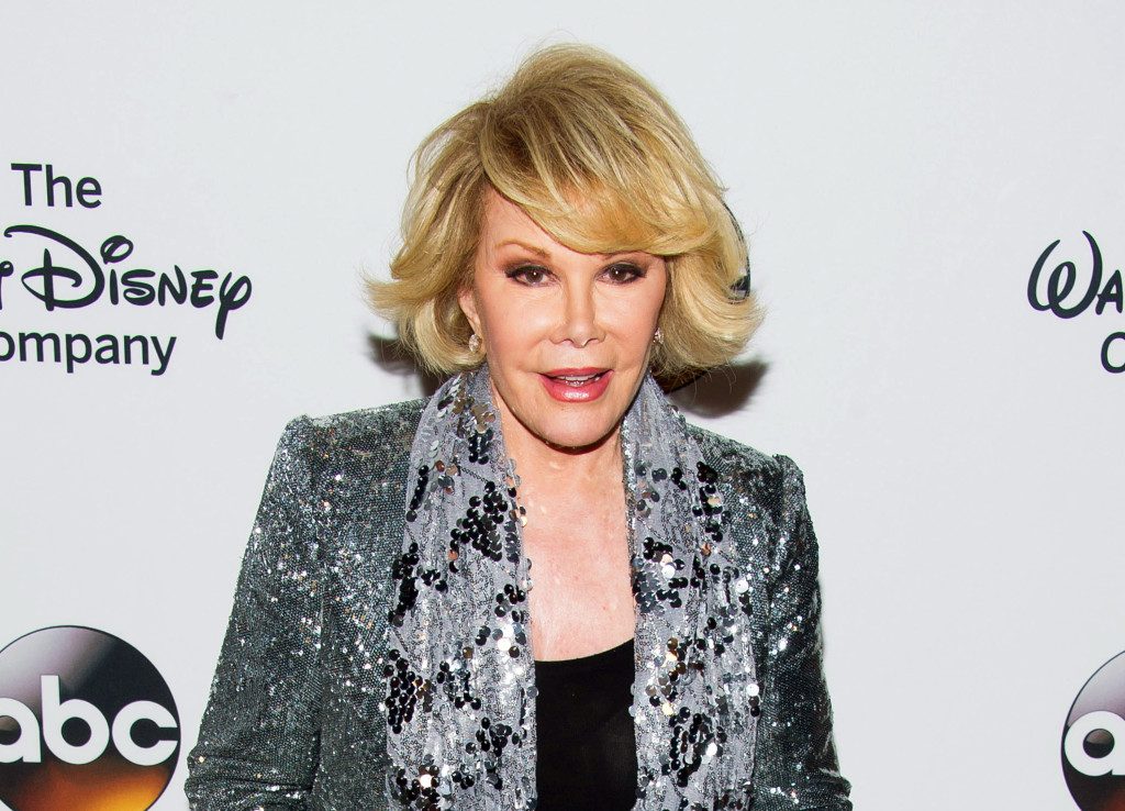 In this May 14, 2014  photo,  Joan Rivers attends A Celebration of Barbara Walters in New York.