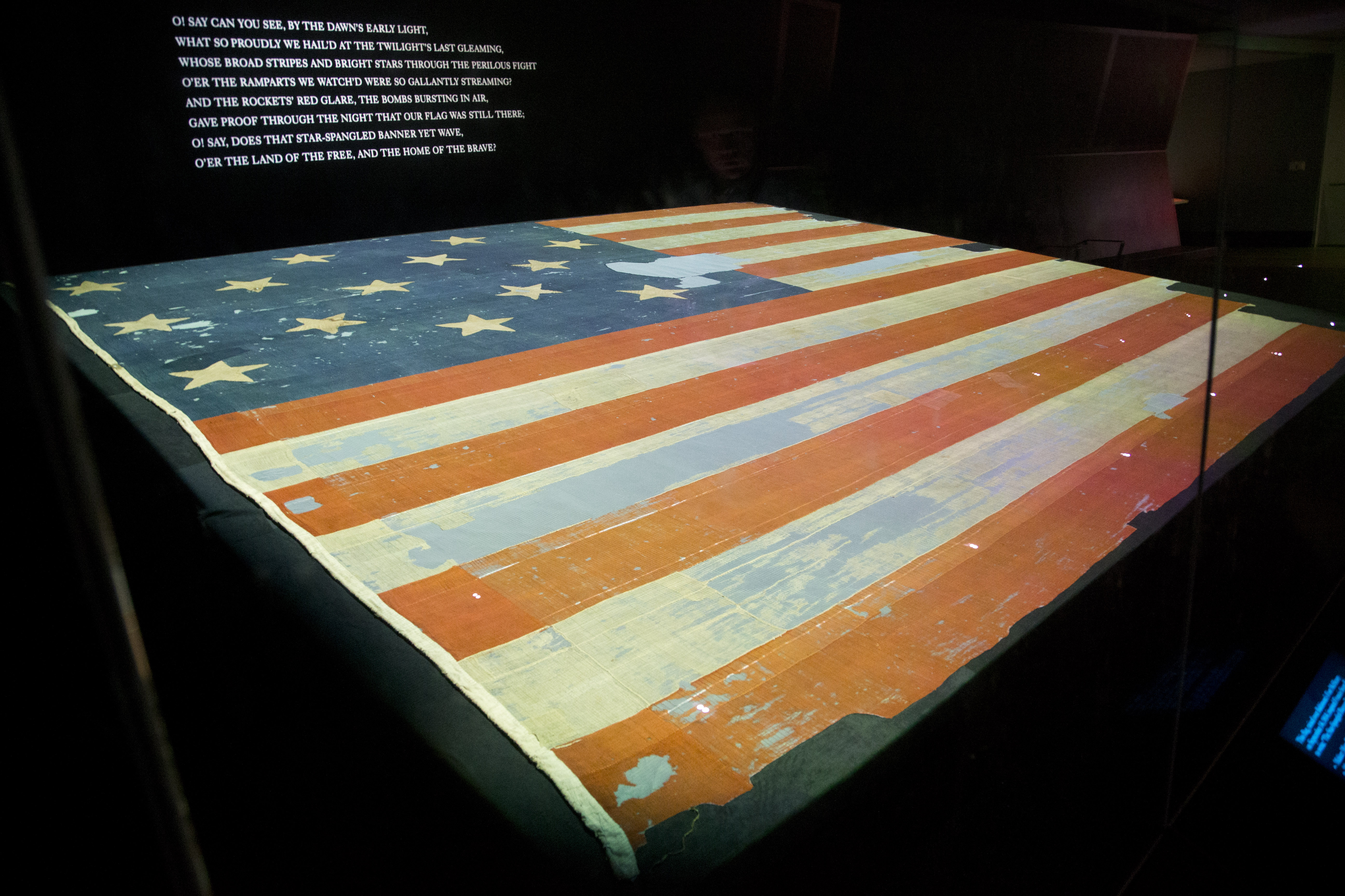 Smithsonian looking for pieces of original 'Star-Spangled ...