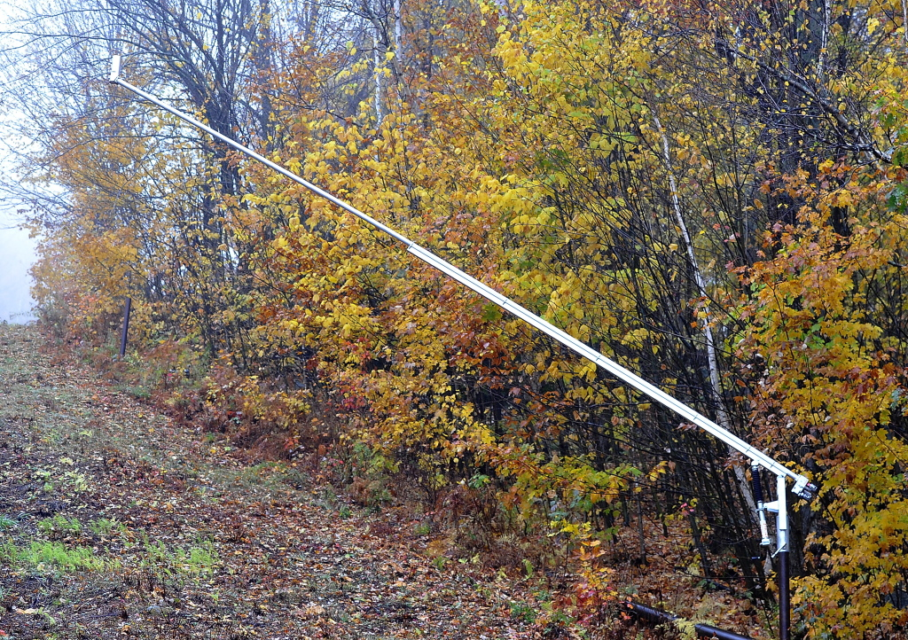 "The Mount Abram Ski Area has installed high-efficiency snow guns in its effort to be a ""sustainable mountain playground."""