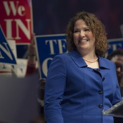 Maine state Sen. Emily Cain's campaign says it will correct an ad that has insufficient disclosure under federal rules.