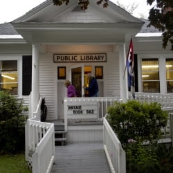 The North Bridgton Public Library is preparing to close for good at the end of this year because it can't afford to stay open. Across Maine, many such institutions are struggling to keep going because of reductions in municipal appropriations.