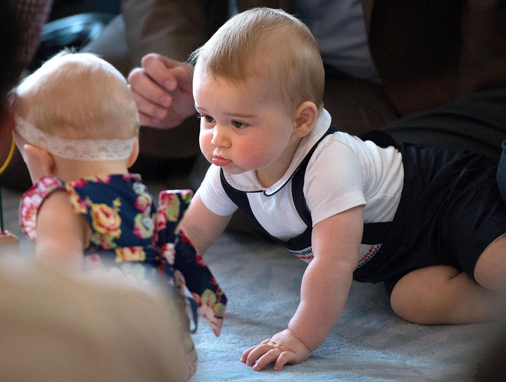 Prince William and his wife, Kate,  want to spare their son, Prince George, shown here, intense media coverage.