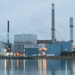 The Verso Paper Corp. mill in Bucksport is now scheduled to close at the end of December, putting more than 500 people out of work. The mill has been the small coastal town's biggest employer for 85 years.