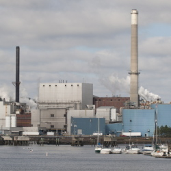 Verso Paper's mill in Bucksport is scheduled to be closed by year's end, leaving more than 500 people out of work.