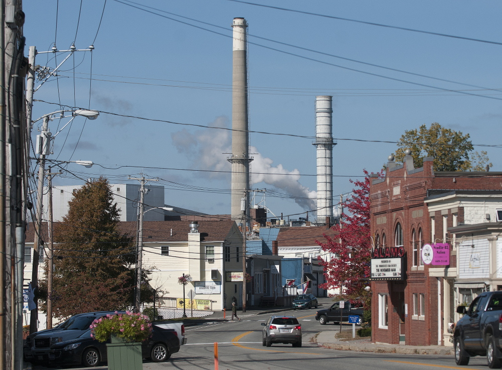 The closure of Verso Paper's Bucksport mill, above, is mostly the result of a historic transition that Maine policymakers have failed to adequately prepare for, although it's been going on before our eyes for decades.